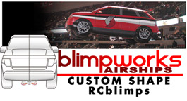 Blimpworks airships Custom RCblimps.