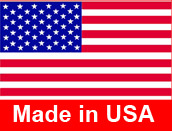Made in the USA with pride.