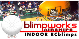 Blimpworks airships Indoor RCblimps.