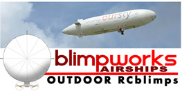 Blimpworks airships Outdoor RCblimps.