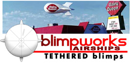 Blimpworks airships Tethered RCblimps.